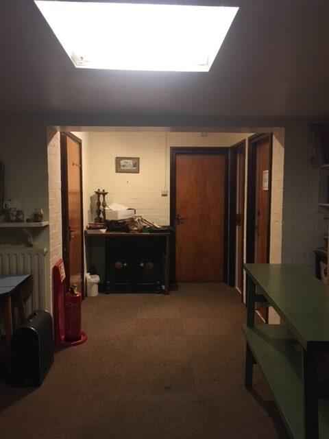 Photo of inside old vestry