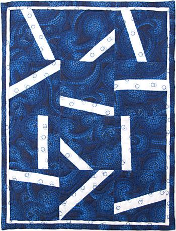 Betty Gilham Blue Mosaics LG