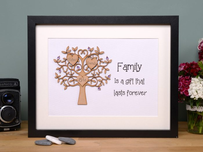 Unique family tree gift