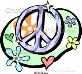 peacesignflower