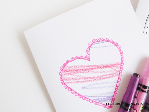 How to transform your baby scribbles into sweet works of art to give to Nana. Love these!