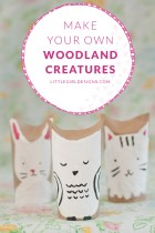 Woodland Creatures – Toilet Paper Roll Craft