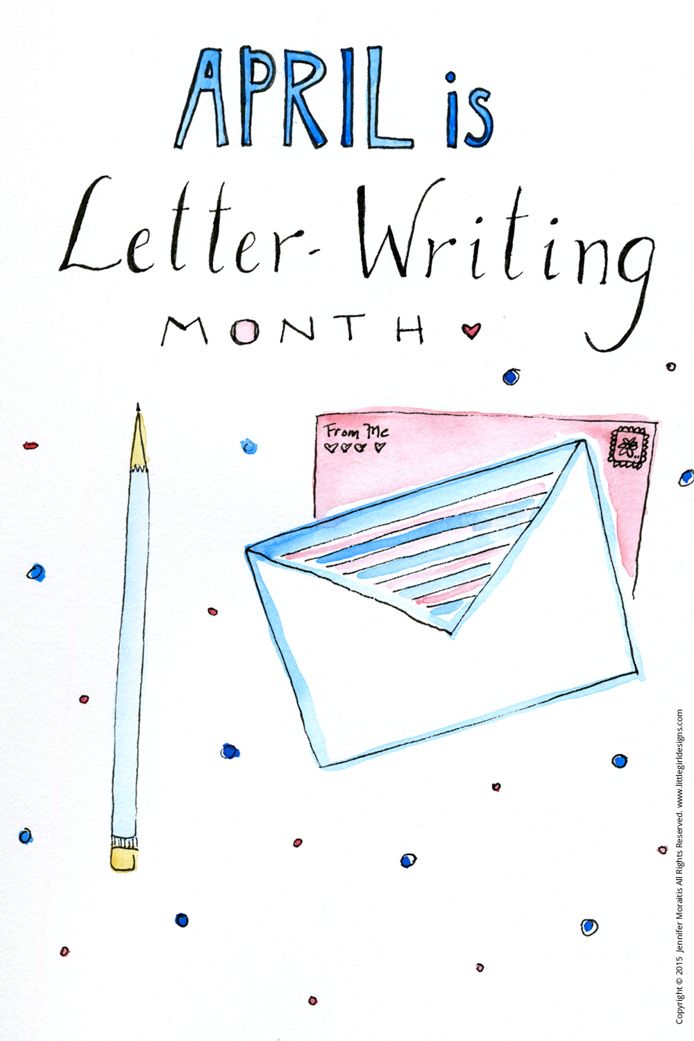 Did you know April is Letter Writing Month? Let's bring back snail mail with tips, tutorials, printables, and prompts for all things letter writing! Yay for old-fashioned cards and mail!