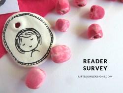 Reader Survey for Little Girl Designs