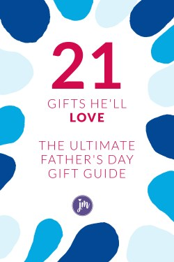 Looking for a Father's Day gift he'll LOVE? Look no further! These gifts range from gifts he'll really use to gifts he'll love to EAT! You can thank me later. :)