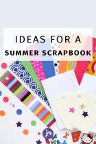 A Summer Scrapbook + a Free Printable!