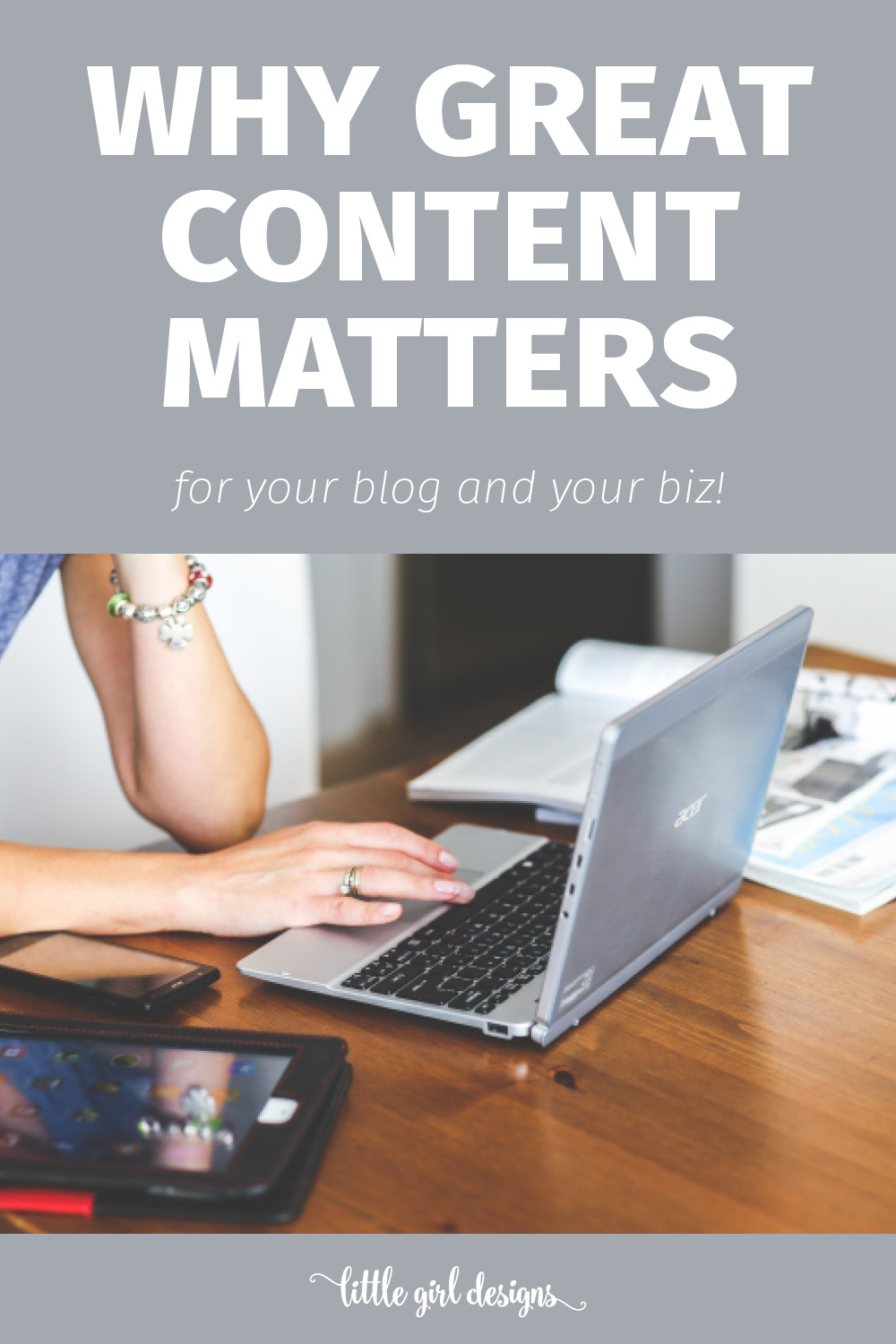 Does creating great content actually help bring more traffic to your blog? Um, yes. Click over to see why. via littlegirldesigns.com