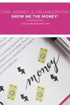 Time, Money, and Organization - Show me the Money (for crafts!) - Are you frustrated because you never have enough money for craft or creative projects? Well, you're not alone. In this podcast episode, I'll share some thoughts about how to save and earn a bit of craft cash as well as talk about some deeper issues regarding money. You won't want to miss it! via littlegirldesigns.com