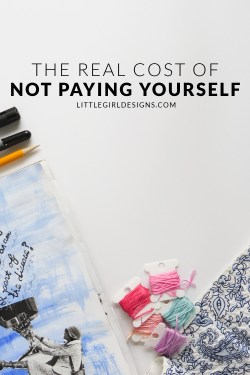 Dear Blogger, PLEASE read this! Have you ever thought about the REAL cost of not paying yourself a fair wage? I know it takes time to build a business, but there comes a time when you need to pay yourself for those hours...