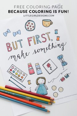 Want a free coloring page? Come on over and get yours at littlegirldesigns.com