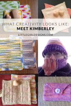 Join us for this series about What Creativity Looks Like. I'm interviewing several women about their life and business and would love for you to meet them. (They're amazing!) Today I'm chatting with Kimberley from Bridgwater Crafts. Come over and read her story.