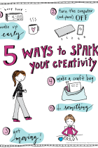 5 Ways to Spark Creativity