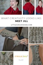 """Welcome to the What Creativity Looks Like series! I'll be interviewing creative women this summer to show you how varied creativity is—you don't want to miss this! Today, I'm talking to Jill Wolcott, who is so talented and inspiring. Come by and say, """"hello!"""""""