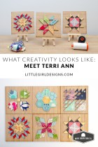 I'm so excited to introduce you to Terri Anne, the owner and creator of Mini Barn Quilts. She makes quilting accessible to anyone, and I'm convinced one of her quilt kits would be the perfect summer, retreat, or weekend project to do!