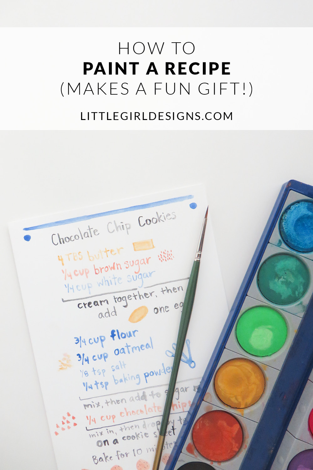 Learn how to transform a recipe into a card or print that you can frame or give as a unique gift!