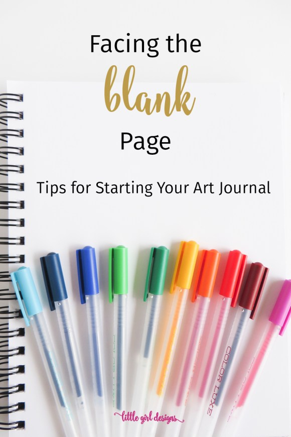 Blank Page Syndrome is a thing, right? These ideas will get you from a blank page in your art journal to creating within seconds. These prompts are perfect for beginners and also fun for those who have been art journaling for a while. Try them all! :)