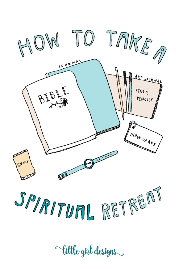 Want to take your own spiritual retreat? Here are some ideas to get you started. I've used these for years and have found them to be very helpful.