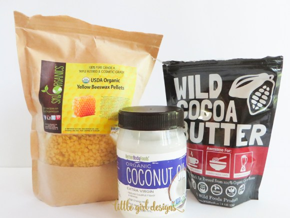 It only takes three ingredients to make your own organic cocoa butter lotion bars. Now you can know EXACTLY what you're putting on your skin.
