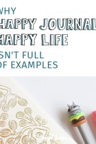 Why Happy Journal, Happy Life Isn't Full of Examples