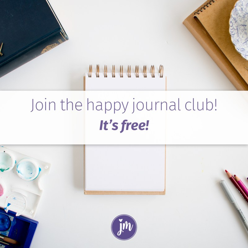 Join the happy journal club, it's free