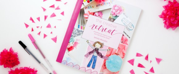Get your copy of The Creative Retreat book and start planning your first personalized retreat!