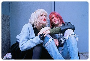 courtney love kurt cobain via tumblr.