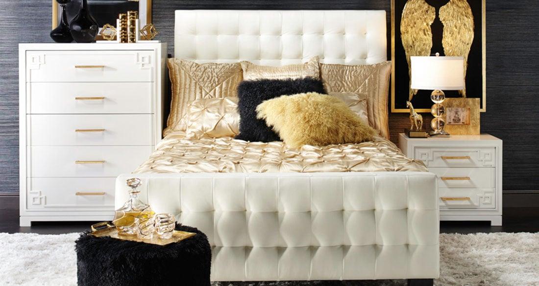 8 Signs Modern Glam Decor Is Your Signature Style • Little ...