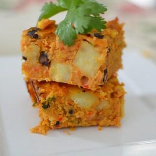 Mexican Lentil Bake