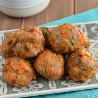 Pork and Sweet Potato Meatballs