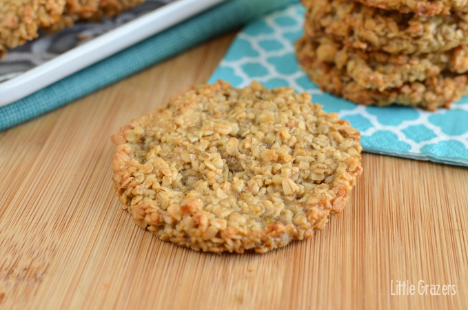 Little Grazers Gluten Free Banana Oatmeal Cookies - fingers foods, fussy eaters, lunch ideas, kids meals, family meals