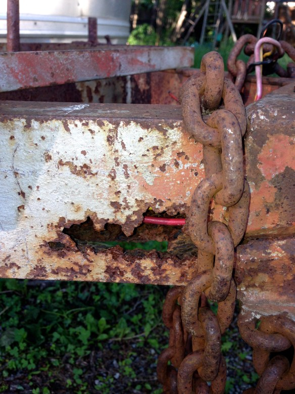 Rusted Hitch
