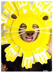 Paper-Plate-and-Handprint-Lion-Mask-Craft-pin