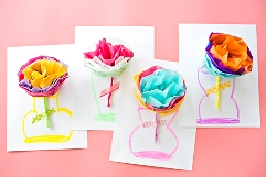 6-tissue-paper-flower-cards