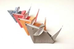 origami mice