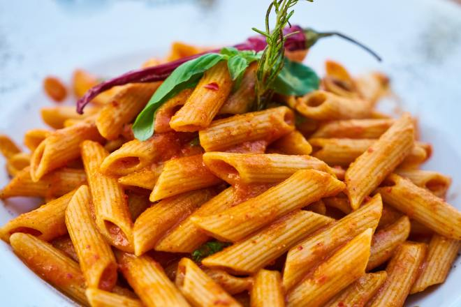 Vegan Pasta Recipe Image