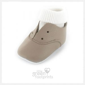 Mon Petit Chausson Shoes DIDA in Brown