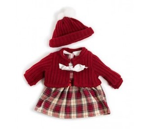 Miniland_Doll_Clothing_38cm_Winter_Dress_Set