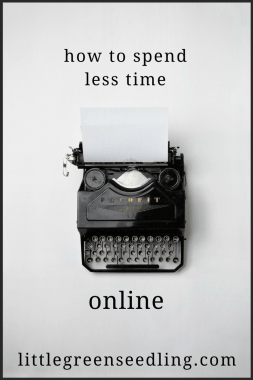 Spend Less Time Online