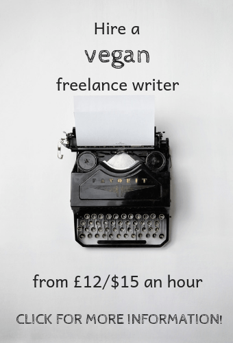 hire vegan freelance writer