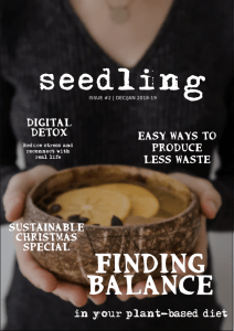Seedling magazine issue 2 - free #vegan ezine - xmas issue. #plantbased #animalrights #christmas