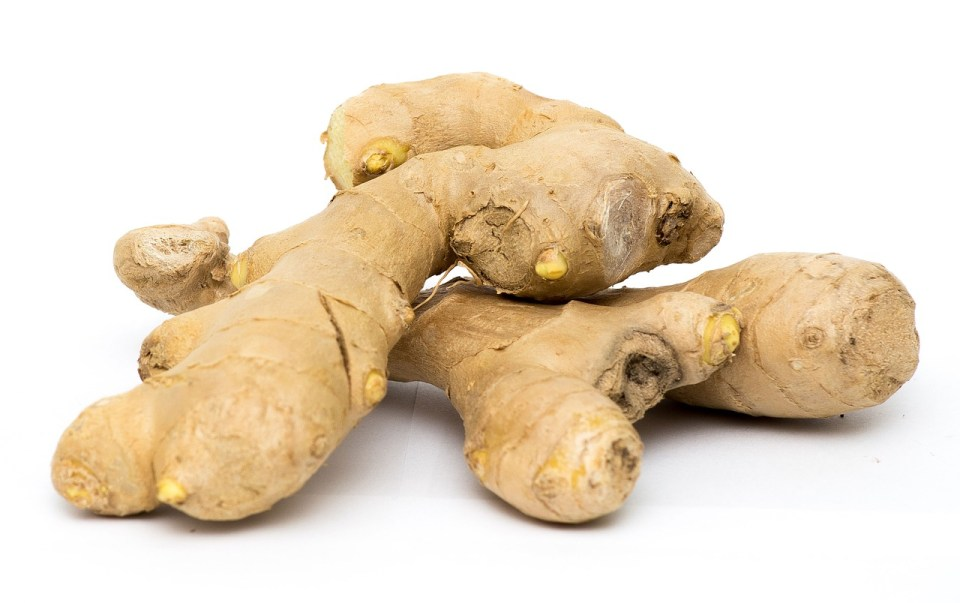 period pain ginger