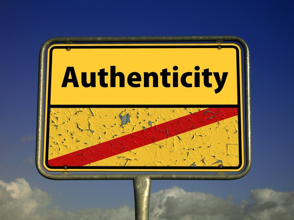 Some Thoughts About Staying Authentic
