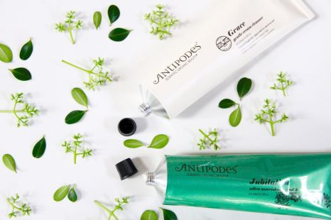 Antipodes Jubilation hand and body cream Grace gentle cream cleanser beauty travel favourites essentials travel blog