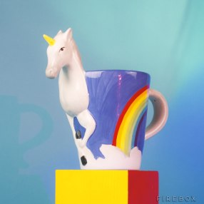 Unicorn mug from Firebox