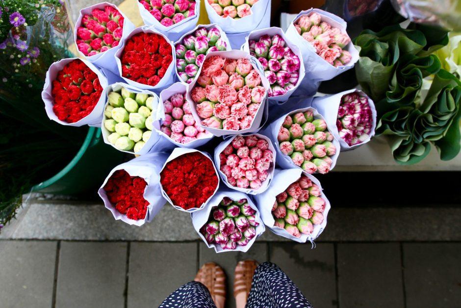 Phoebe Lee Flower Market Hong Kong