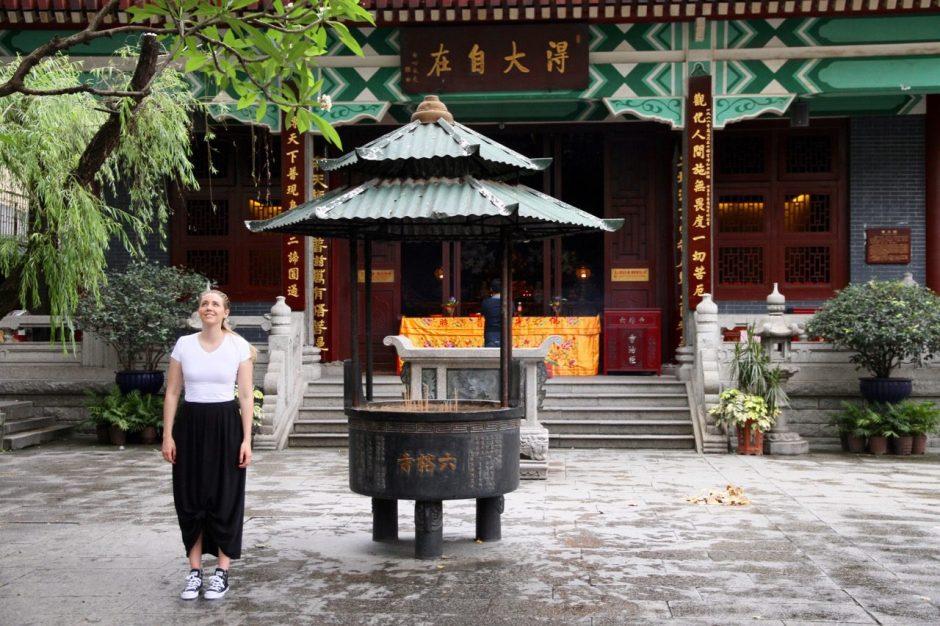 Temple of six banyans