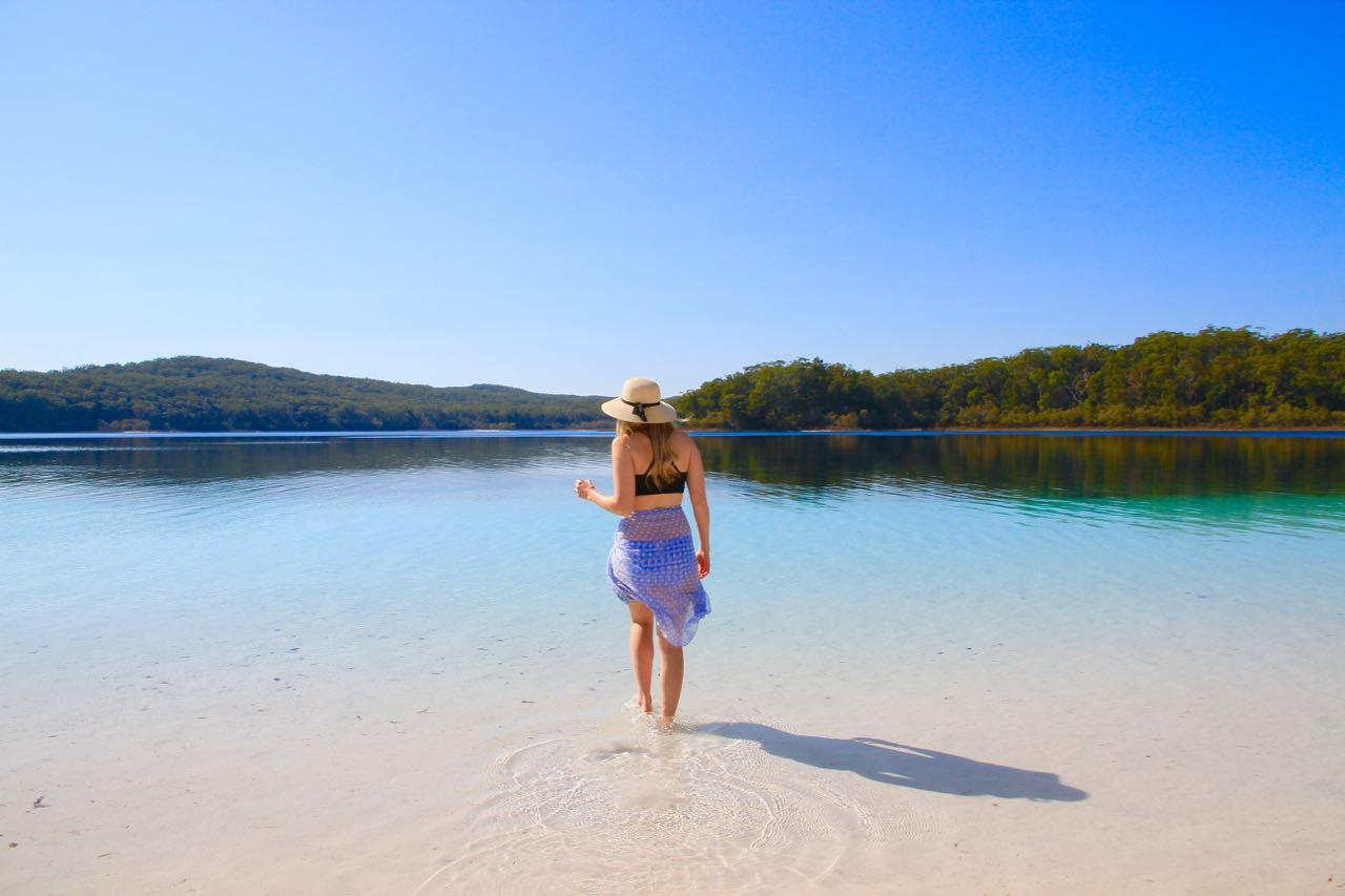 Lake McKenzie Things to do on Fraser Island Travel Blog Australia Queensland