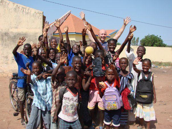 My favourite photo, Mali school kids