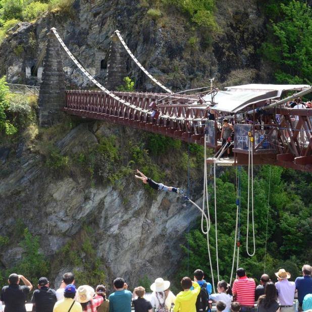 My first Bungee Jump Queenstown, New Zealand
