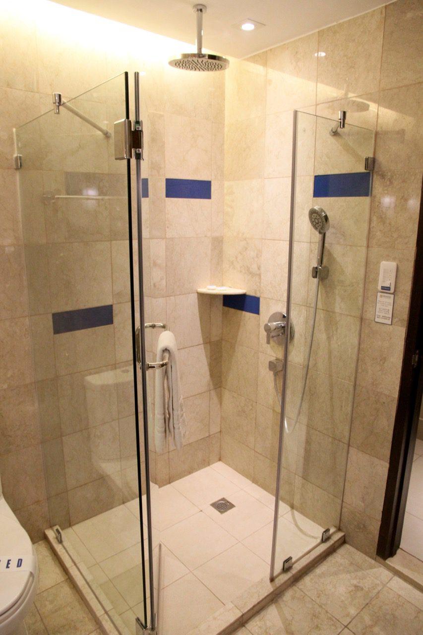 Shower Henann Lagoon Resort Travel Blog Review Philippines Holiday